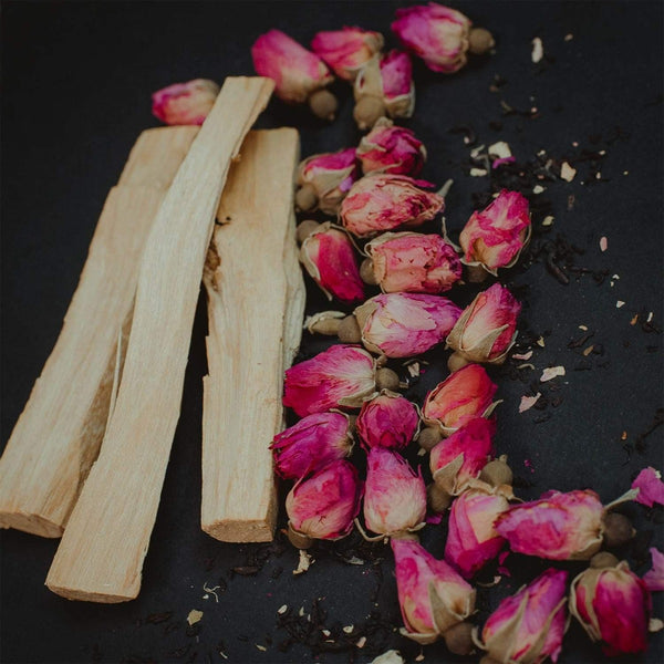 Palo Santo Bundle - Tea & Transformation subscription box | Organic healing tea & Gifts