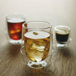 Double Walled Iced Tea Glass