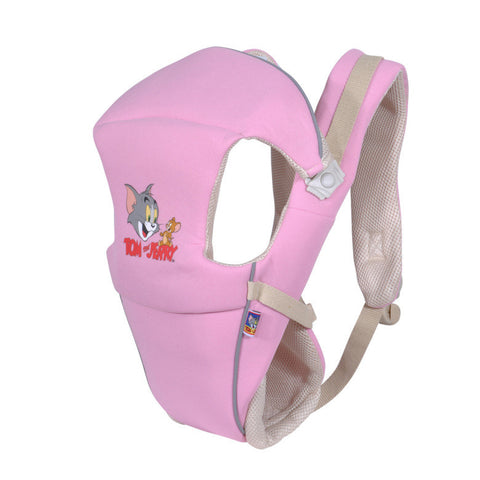 Pink Cartoon Baby Carrier