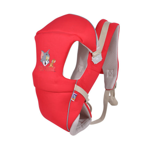 Red Cartoon Baby Carrier