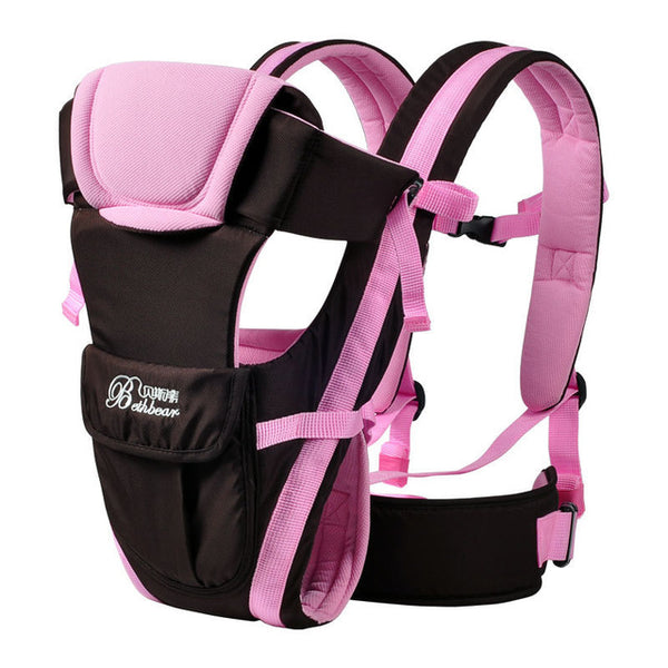 Pink Double Support Baby Carrier