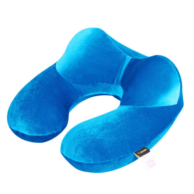 Blue Neck Pillow