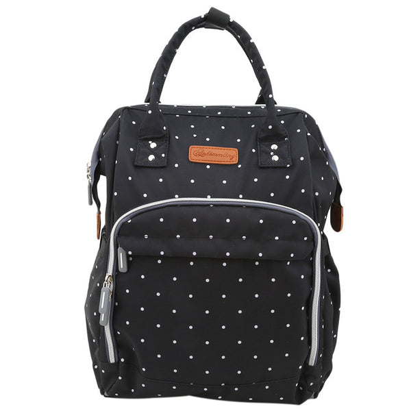 Black Poker Dots Essentials Bag