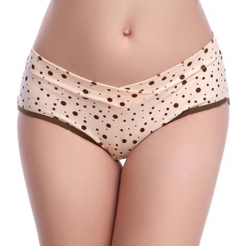 Brown Dotted Smooth Tech Underwear