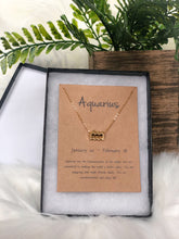 Zodiac Signs (gold) | necklace