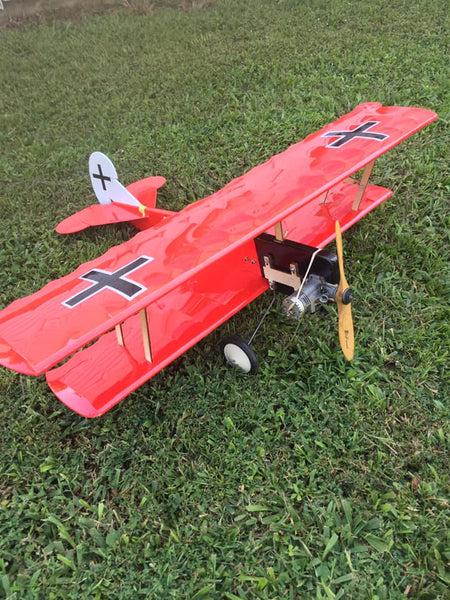 Fokker D7 .19-.35 Biplane CL KIT