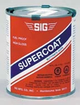 SIG SUPERCOAT FUEL PROOF DOPE-CLEAR 32oz Save $2.95 4th of July Blowout