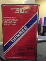 Sig Supercoat Thinner 1 QT Save $2.15 4th of July Blowout