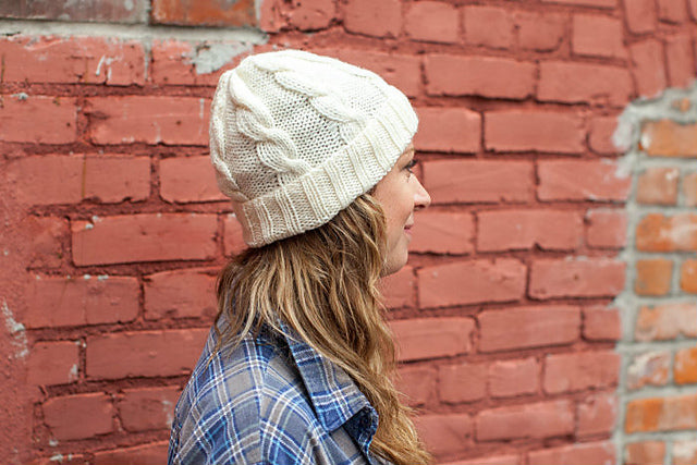 Beginner Cable Hat