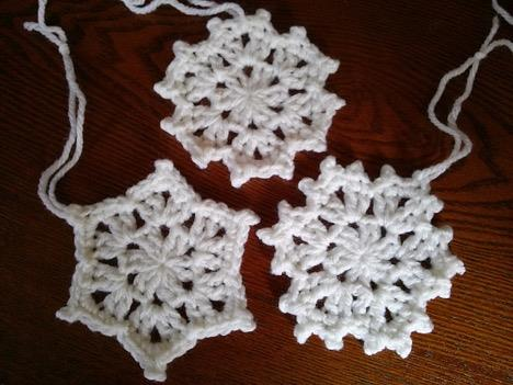 Let It Snow Crocheted Snowflakes