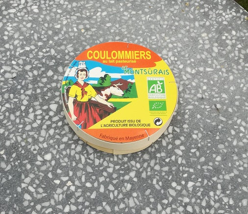Coulommiers, Bio (250 gr).
