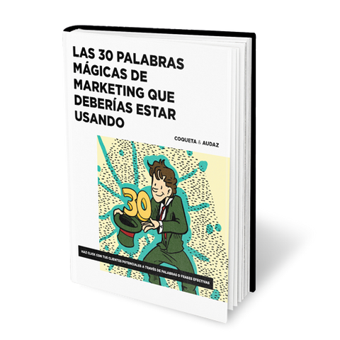 Libro 30 palbras mágicas de marketing
