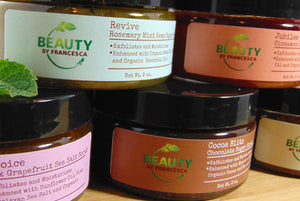 Beauty by Francesca Body Scrub Collection