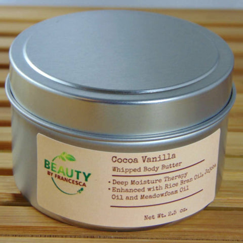 whipped body butter cocoa vanilla 3 oz