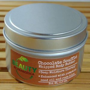 whipped body butter chocolate souffle