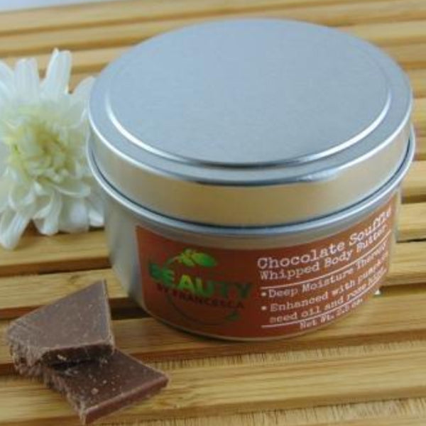 chocolate body butter whipped