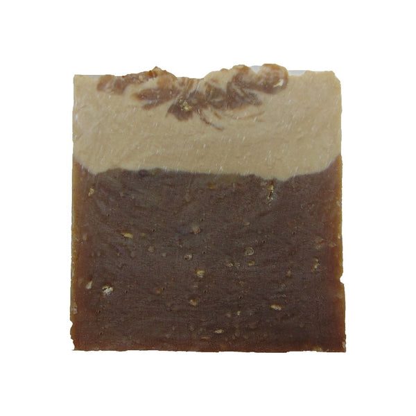Beauty by Francesca Chocolate Oatmeal Stout Beer Soap front view