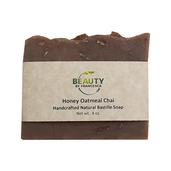 Beauty By Francesca Honey Oatmeal Chai soap