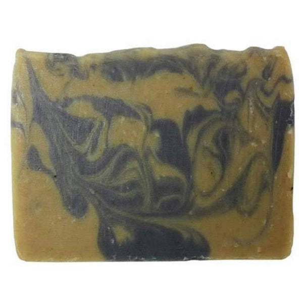 Charcoal Clay Soap front view
