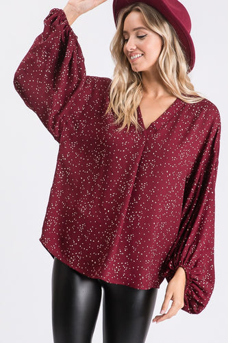 Make It Pop Blouse