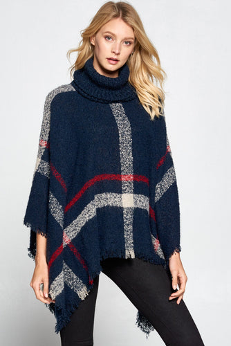 Everyone's Favorite Poncho- Navy