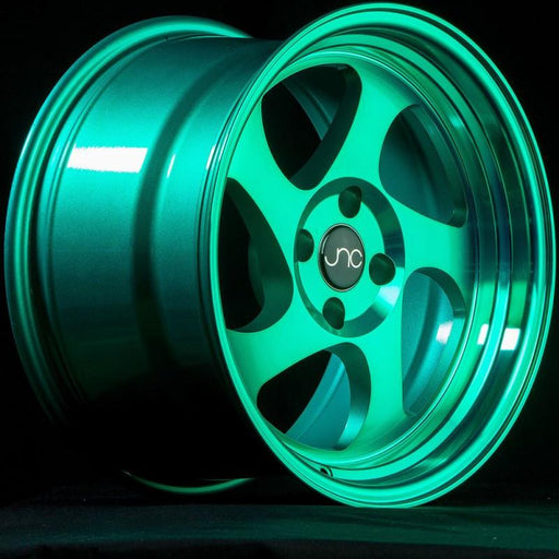JNC034 Transparent Green - JNC Wheels