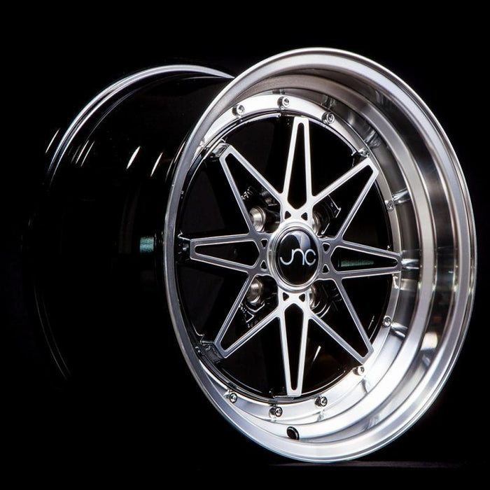 JNC002 Black Machined Face - JNC Wheels