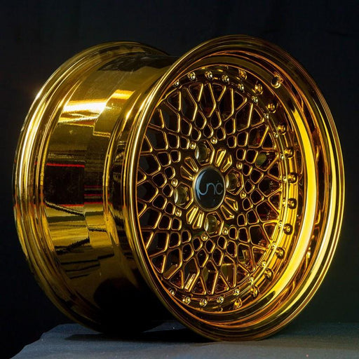 JNC045 Gold Platinum - JNC Wheels