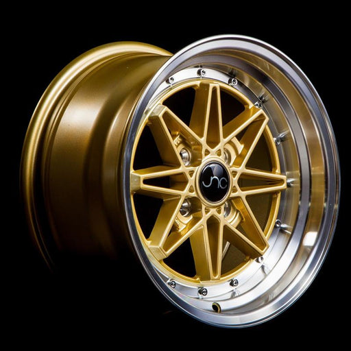 JNC002 Gold Machined Lip - JNC Wheels