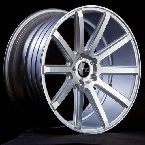 JNC024 Silver Machined Face - JNC Wheels