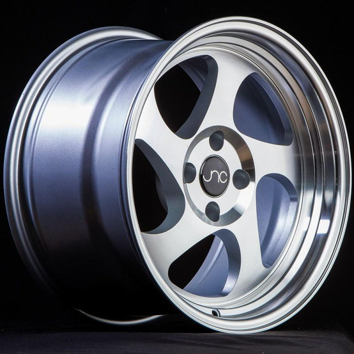 JNC034 Silver Machined Face - JNC Wheels