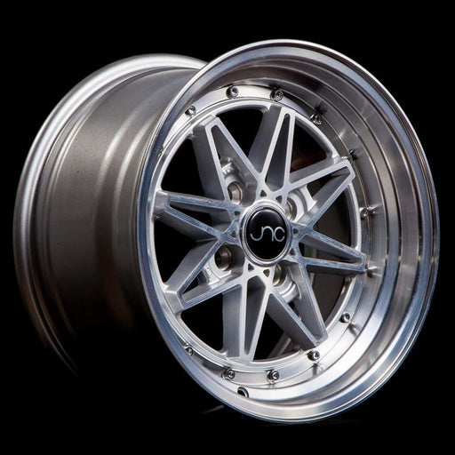 JNC002 Silver Machined Face - JNC Wheels