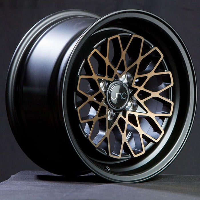 JNC040 Matte Black Bronze Face - JNC Wheels