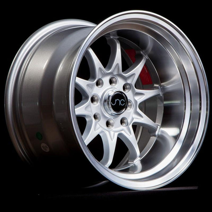 JNC003 Silver Machined Lip - JNC Wheels