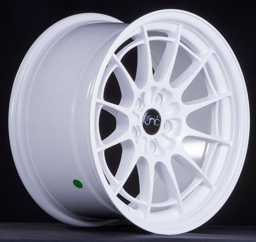 JNC033 White - JNC Wheels