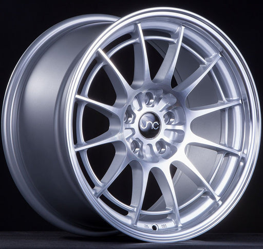 JNC033 Silver Machined Face - JNC Wheels