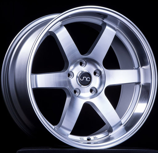 JNC014 Silver Machined Face - JNC Wheels