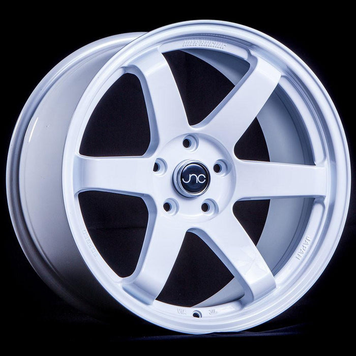 JNC014 White - JNC Wheels