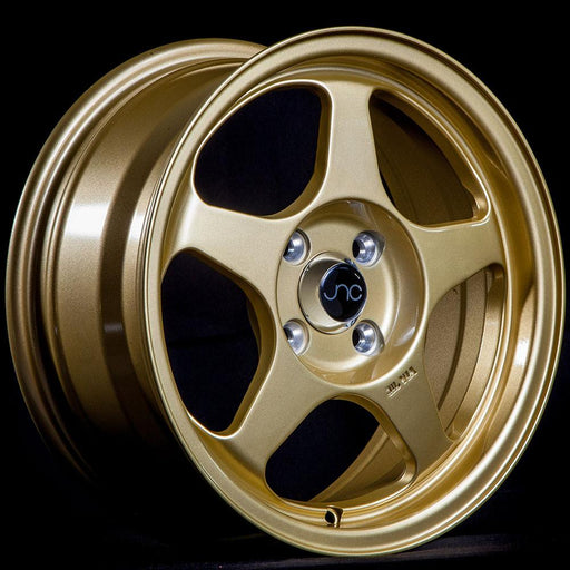 JNC018 Gold - JNC Wheels