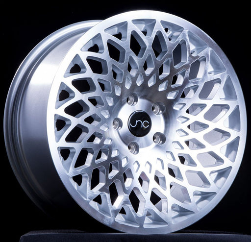 JNC043 Silver Machine Face - JNC Wheels