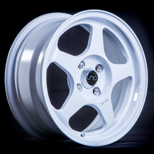 JNC018 White - JNC Wheels