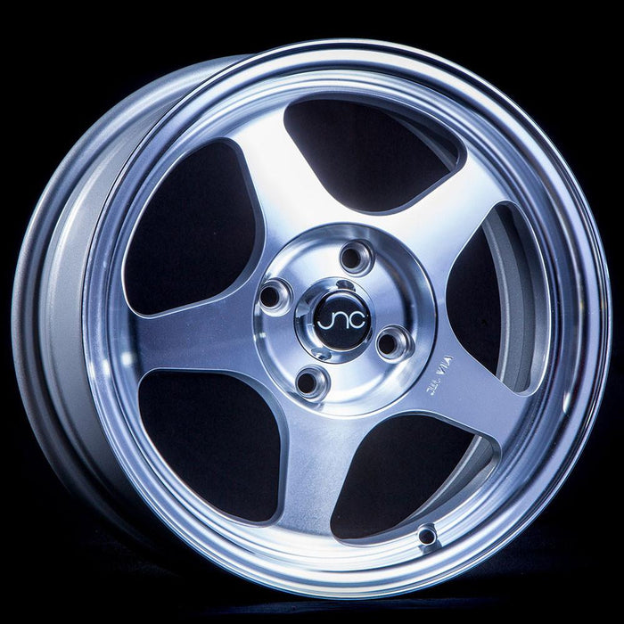 JNC018 Silver Machined Face - JNC Wheels