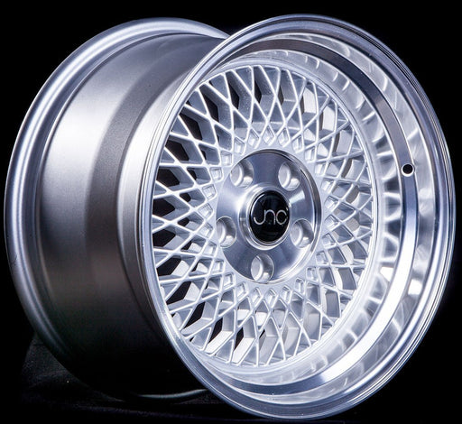 JNC031 Silver Machined Lip - JNC Wheels