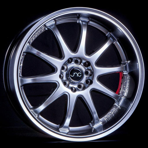 JNC019 Hyper Black Machined Lip - JNC Wheels