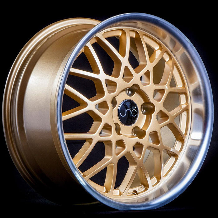 JNC016 Gold Machined Lip - JNC Wheels