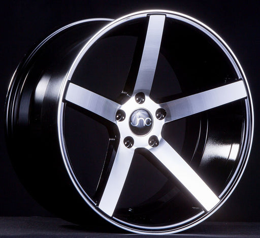 JNC026 Black Machined Face - JNC Wheels