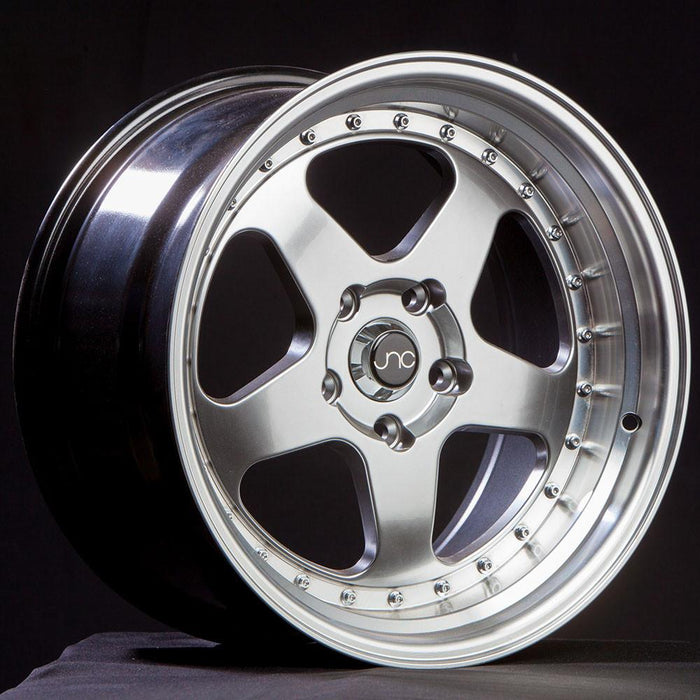 JNC010 Hyper Black Machined Lip - JNC Wheels