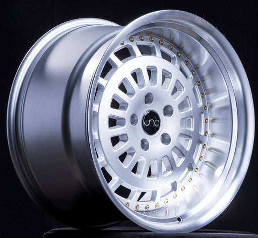 JNC046 Silver Machined Face - JNC Wheels