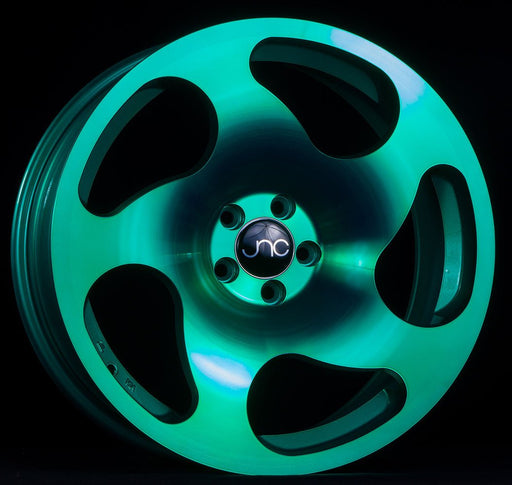 JNC036 Transparent Green - JNC Wheels