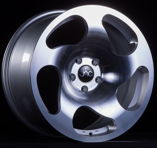 JNC036 Silver Machined Face - JNC Wheels